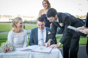 Warrnambool Racing Club Wedding