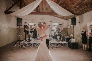 The Moloney Room Wedding Dance Floor